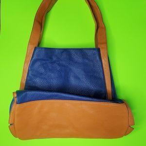 Cabrelli & Co blue leather bag
